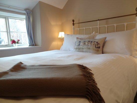 East Pennard, UK: Wells room @ Huxham Farmhouse