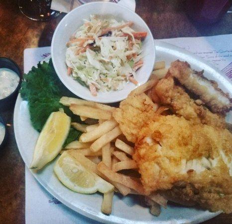 Quarterdeck Restaurant: Gluten Free Fish & Chips