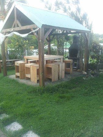 Residence le Zandoli: le coin BBQ&Plancha