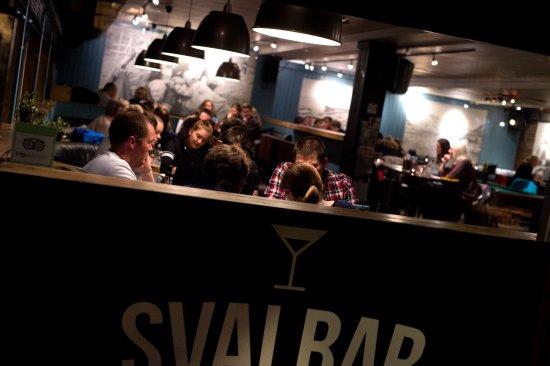 Svalbar, pub, restaurant, cocktails, dining