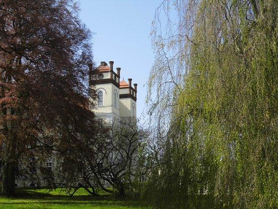 Hotel Schloss Lubbenau: Vom Park aus