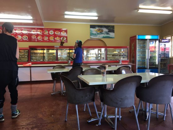 Tirau, New Zealand: The inside