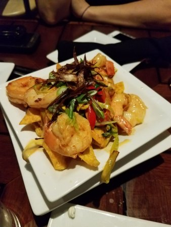 New Bedford, MA: Thai Shrimp Nachos