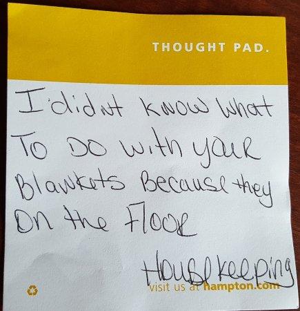 Hampton Inn Jacksonville Downtown I-95: Housekeeping