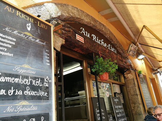 Au Riche-Lieu: Entrata , Cozze Tartare Filetto