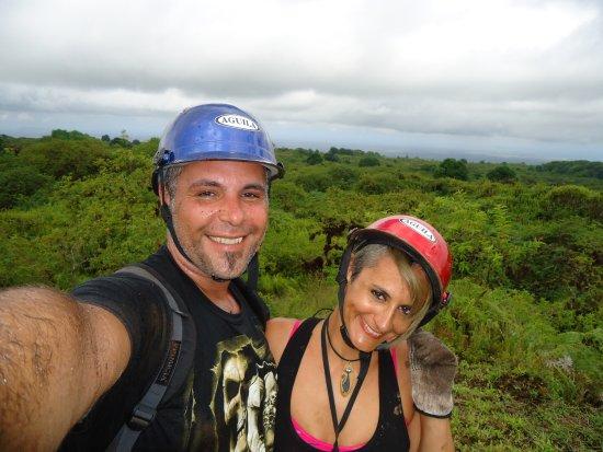 Puerto Villamil, Ecuador: Felices y embarrados luego de la aventura :)