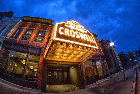 Adrian, MI: The Croswell after its 2017 renovation