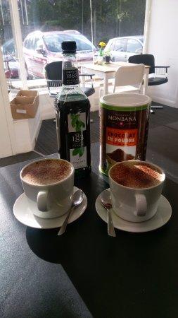 Mint Hot Chocolate, yumm!