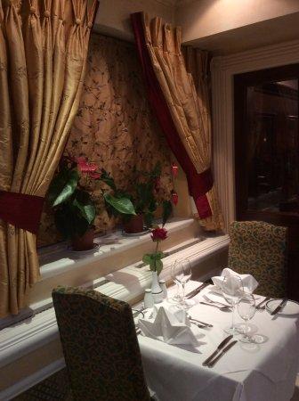 Grange Rochester Hotel: Nostro tavolo..