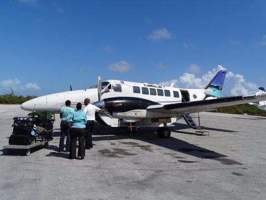 Cape Santa Maria Beach Resort & Villas: Tolles Flugerlebnis ab Nassau nach Stella Maris Airport (Long Island)