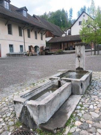 Kartause Ittingen: Cour de l'hôtel