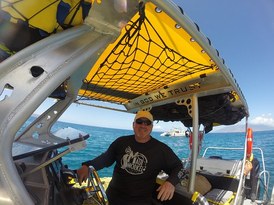 8a1bf15f9d83 Captain you can trust - Picture of Maui Snorkel Charters, Kihei ...