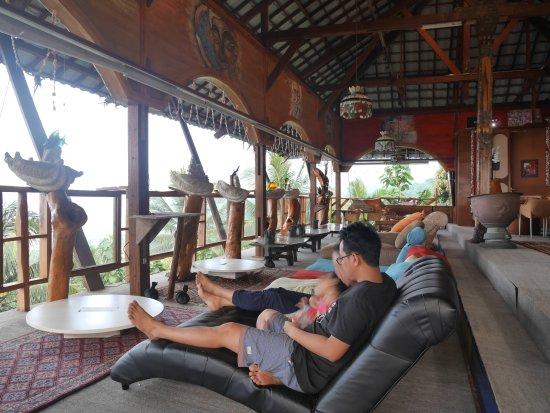 Cisolok, Indonesien: Karang Aji Beach Villa