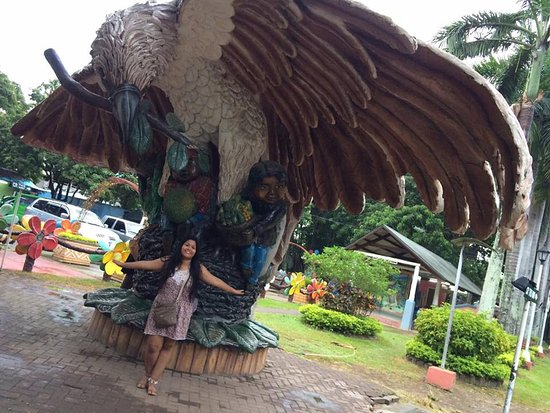 Davao City, Filippinerne: the Philippine eagle!