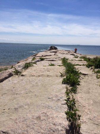 Madison, CT: The jetty