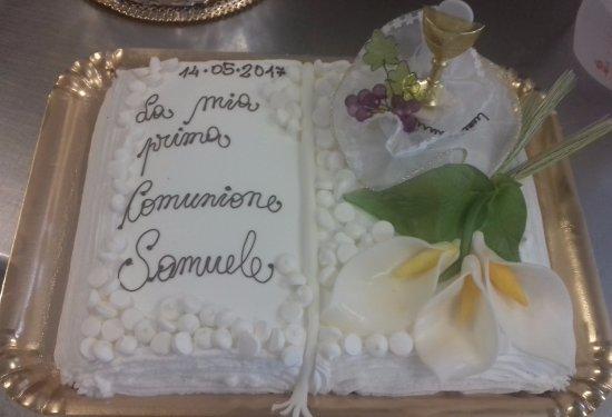 Fiumicello, Italy: torta Comunione