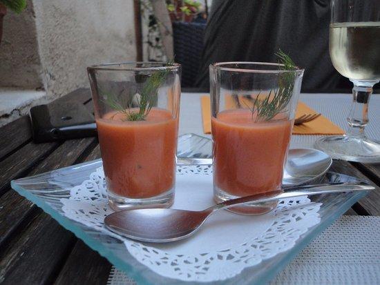 Cadenet, Frankreich: gazpacho