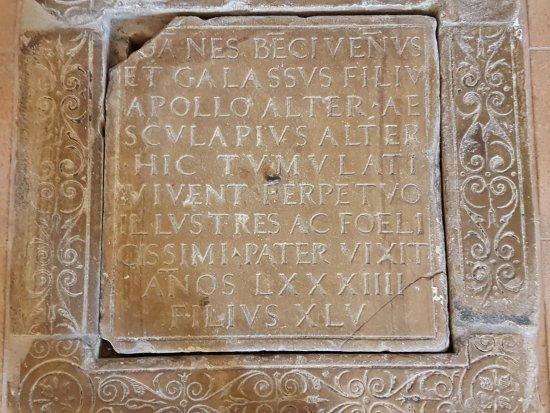 Gualdo Tadino, Italia: Floor tile