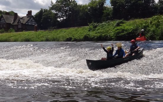 Guided canoe trip on the river Tame, Stockport  - Picture of