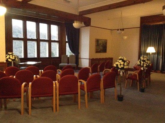 Maentwrog, UK: Priodasau / Weddings.....Lolfa Tudor / Tudor Lounge