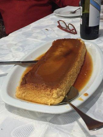 Restaurante El Cubano: flan