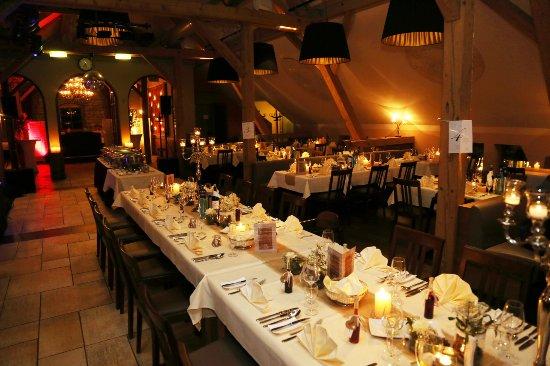 Restaurant Lui Am Tag Unserer Hochzeit Picture Of Hofgut Domane