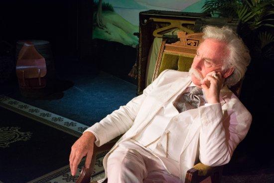 Planters Barn Theater: Richard Garey is indeed Mark Twain Himself