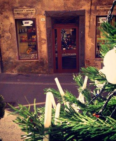 Montorgiali, Italy: Esterno natalizio