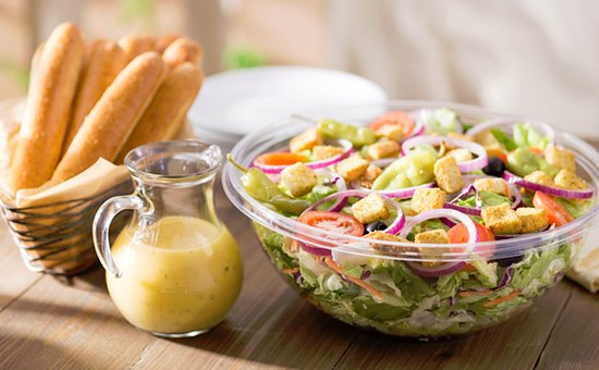 Picture Of Catering To Go Salad On Olive Garden Web Site