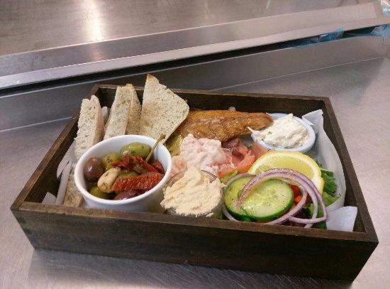 Borth-y-Gest, UK: Cold seafood platter