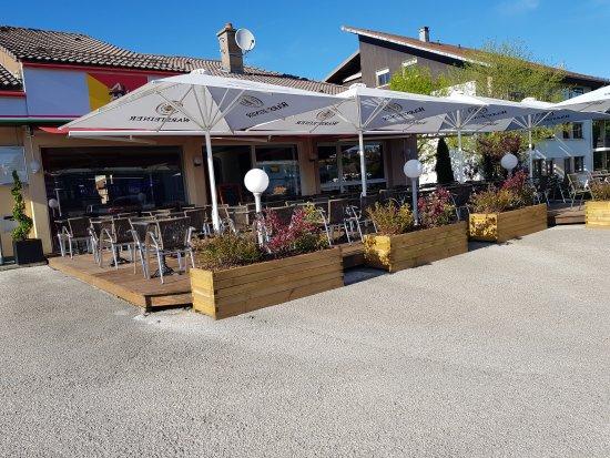 Valdahon, Frankreich: Magnifique terrasse