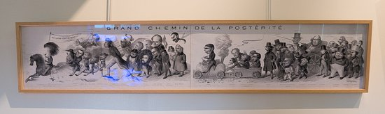 Musee Balzac - Chateau de Sache: cartoon