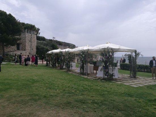 Il giardino delle terrazze del ristorante Calamosca - Foto di Hotel ...