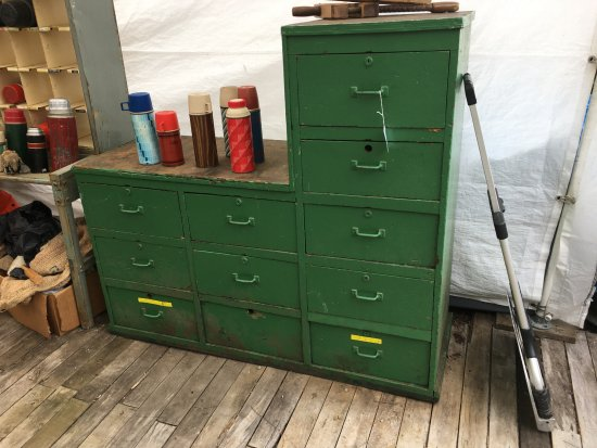 Brimfield, MA: Vintage Cabinet