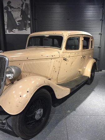 Alcatraz East Crime Museum Bonnie And Clyde Car