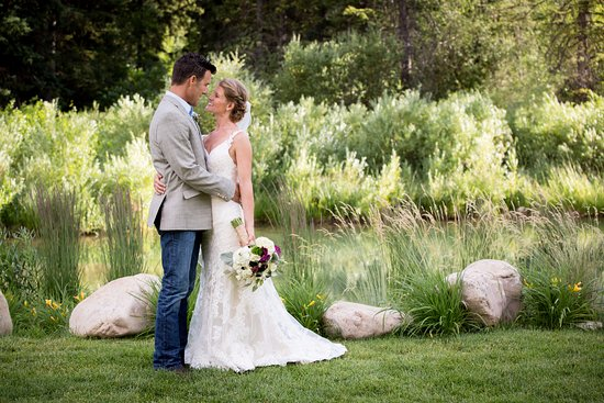 Victor, ID: Our Pond is a popular ceremony site