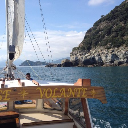 Sestri Levante, Italy: In navigazione