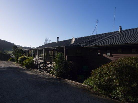 Te Kuiti, New Zealand: Entrance, morning