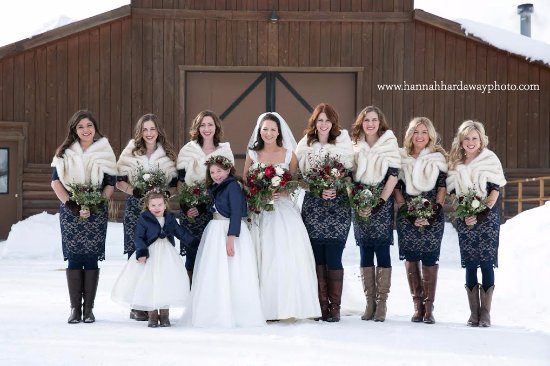 Victor, ID: Beautiful Winter Wedding