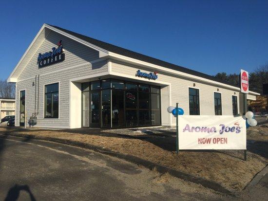 Auburn, ME: Aroma Joe's Coffee - Auburm - Maine