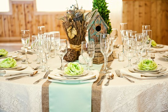 Victor, ID: Beautiful Tables spaces are easily created at Moose Creek Ranch