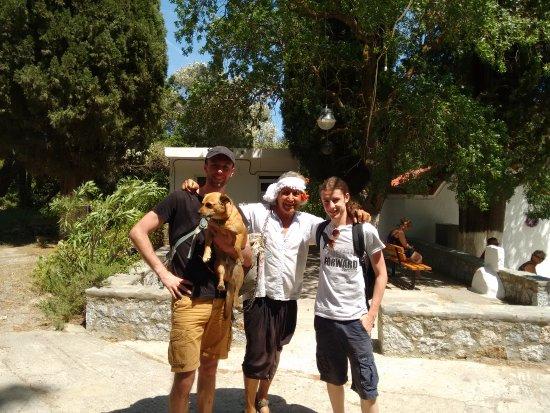 Archangelos, Griechenland: Dankjewel Nikos & Kion voor de geweldige dag! Groetjes, Mitchell & Sid