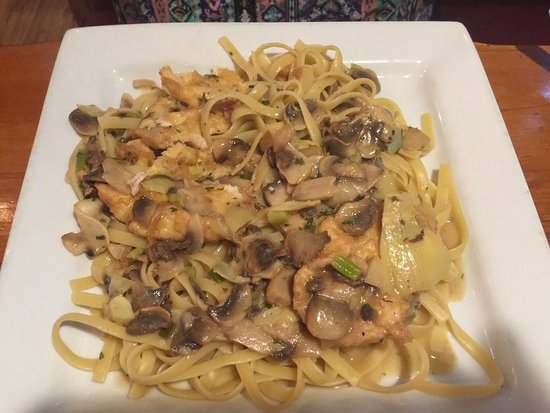 Fort Mill, SC: Chicken Francese with added artichokes