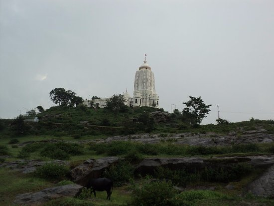 The Jagannath Temple Ranchi from distance