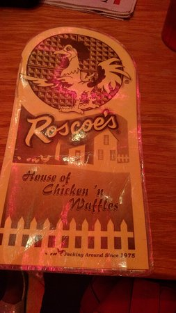 Roscoe's House of Chicken & Waffles: Waited yrs to go here..lol