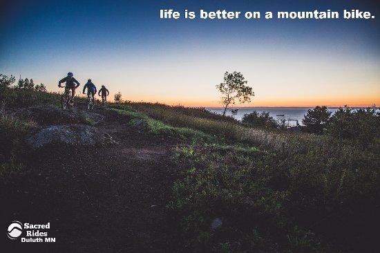 Duluth Traverse Mountain Biking Tours Picture Of Sacred