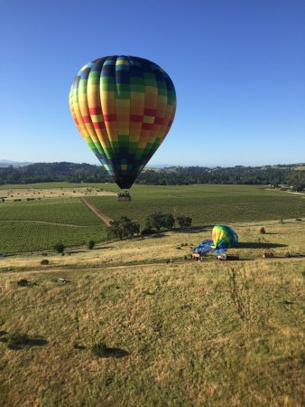 Yountville, CA: Awesome flight! We had perfect weather and a great flight.  Brunch after the flight was lovely.