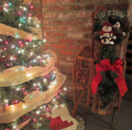 Christmas is always a fun time of year at the Mountaineer Inn!