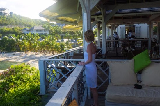 Freetown, Antigua: View from the restaurant