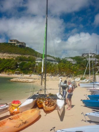 Freetown, Antigua: Getting the low-down from Devon